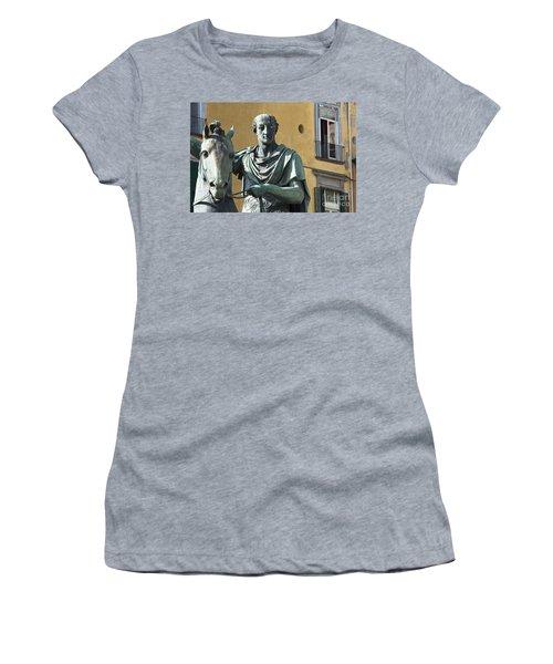 Piazza Del Plebiscito Women's T-Shirt (Athletic Fit)