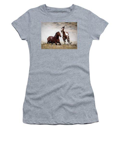Picasso - Wild Stallion Battle Women's T-Shirt (Junior Cut)