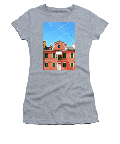 Picturesque House In Burano Women's T-Shirt