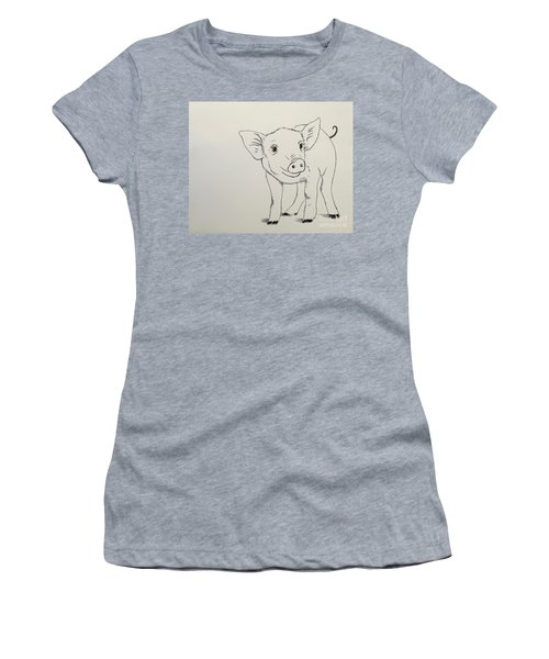 Piglet Women's T-Shirt (Athletic Fit)