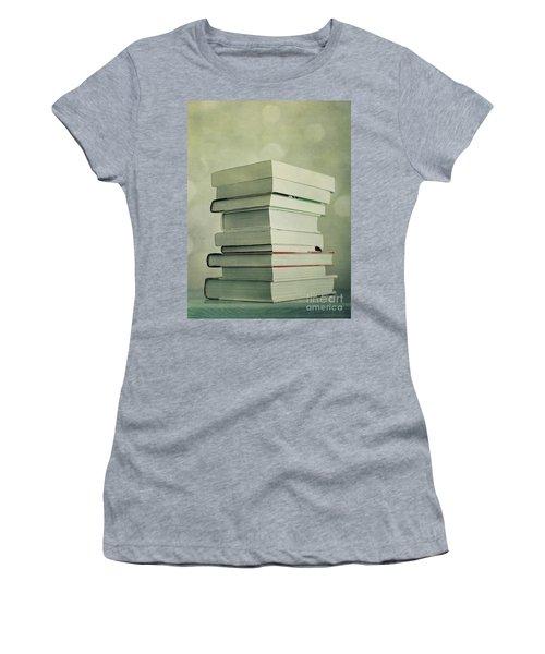 Piled Reading Matter Women's T-Shirt