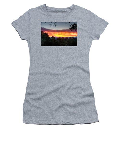 Pine Sunrise Women's T-Shirt