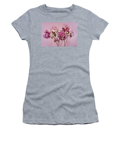 Pink Columbines Women's T-Shirt