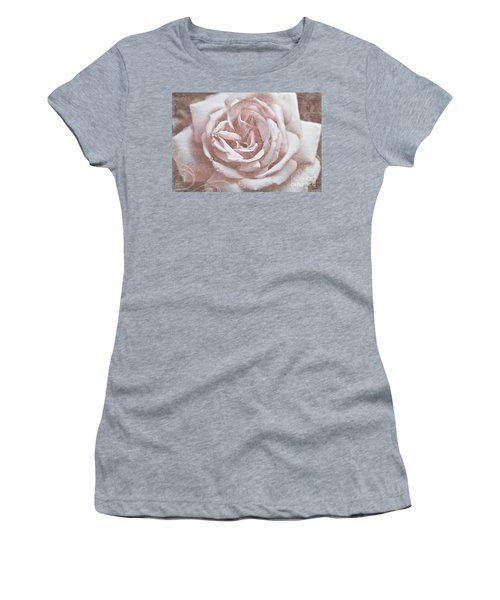 Pink Garden Rose Women's T-Shirt