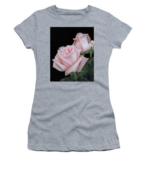 Pink Persuasion Women's T-Shirt (Junior Cut) by Suzy Piatt