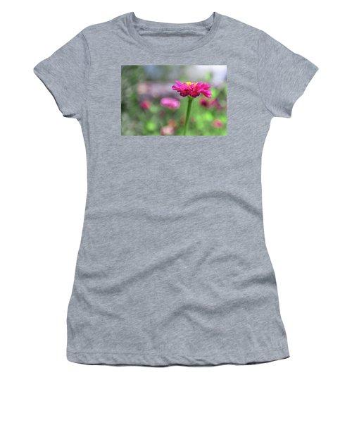 Pink Zinnia Women's T-Shirt