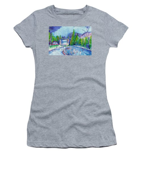 Planet Bluegrass Lyons Colorado Women's T-Shirt