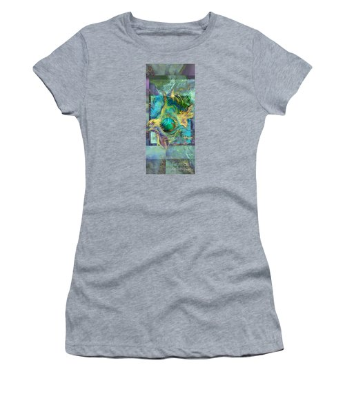 Planetary Collision 2 Women's T-Shirt (Athletic Fit)