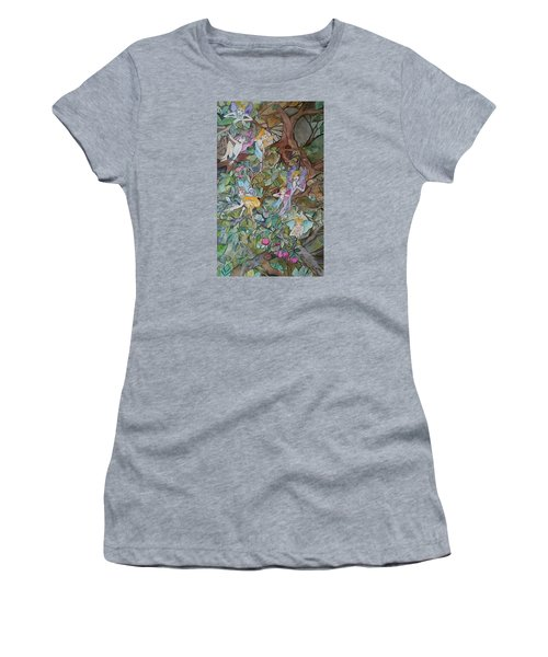 Playful Women's T-Shirt (Athletic Fit)