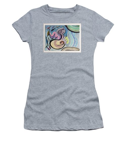 Playing With The Seal Women's T-Shirt (Athletic Fit)