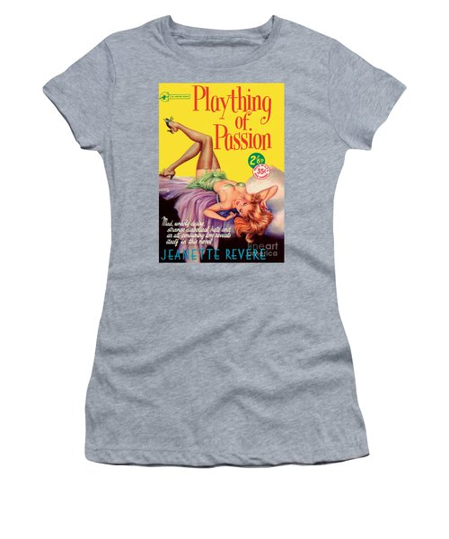 Plaything Of Passion Women's T-Shirt (Junior Cut) by Reginald Heade