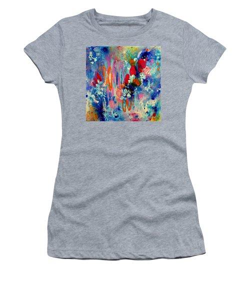 Pocket Full Of Horses 3 Women's T-Shirt (Junior Cut) by Tracy Bonin