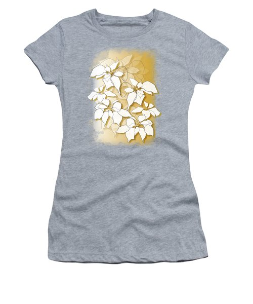 Poinsettias Women's T-Shirt