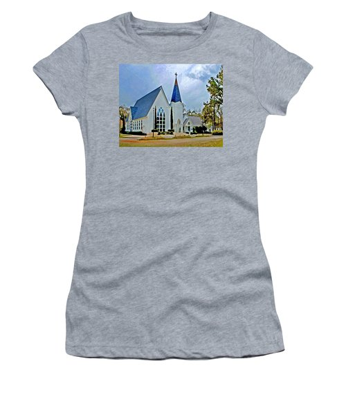 Point Clear Alabama St. Francis Church Women's T-Shirt