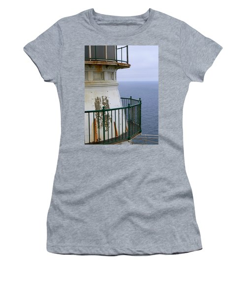 Point Reyes And The Pacific Ocean Women's T-Shirt (Athletic Fit)