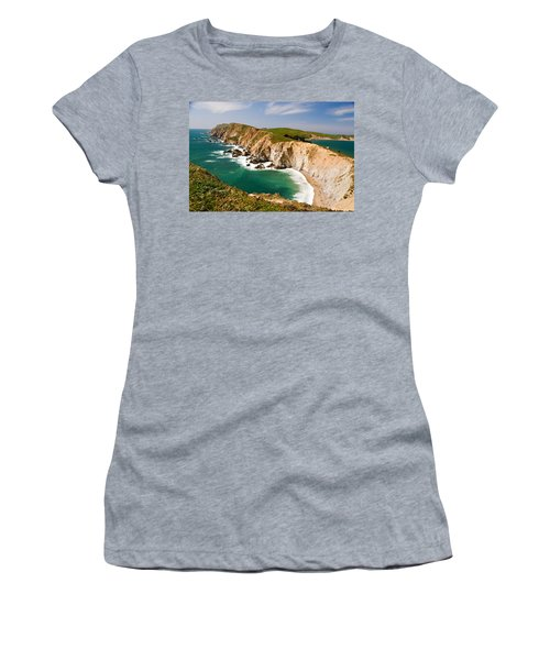 Point Reyes National Seashore Women's T-Shirt (Athletic Fit)