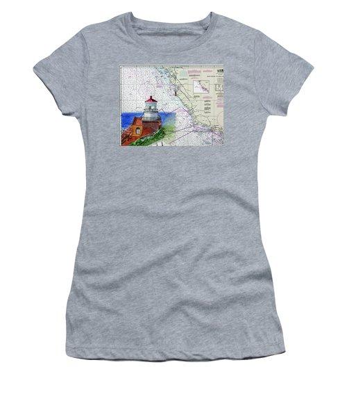 Point Sur Light Station Women's T-Shirt (Athletic Fit)