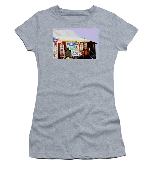 Poor Monkey's Juke Joint Women's T-Shirt (Athletic Fit)