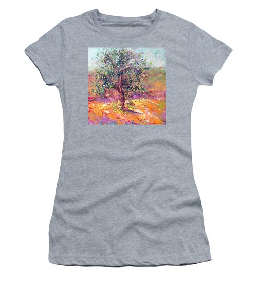 Poppies And Lupine Women's T-Shirt (Athletic Fit)