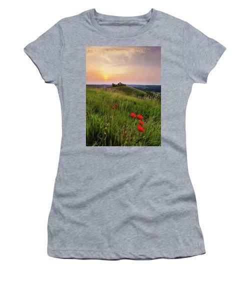 Poppies Burns Women's T-Shirt