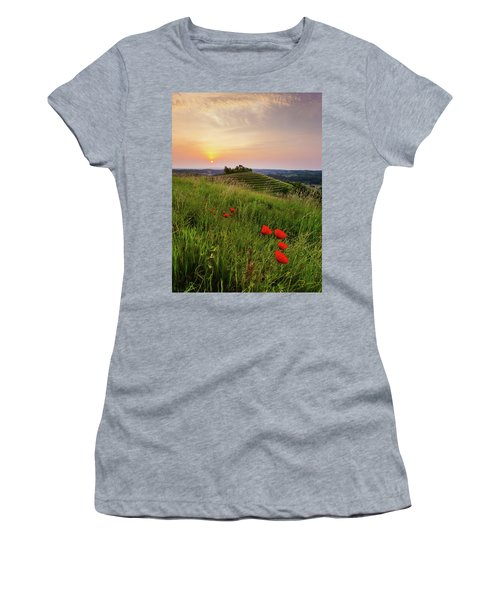 Poppies Burns Women's T-Shirt