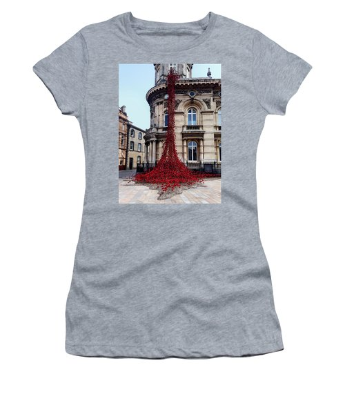 Poppies - City Of Culture 2017, Hull Women's T-Shirt