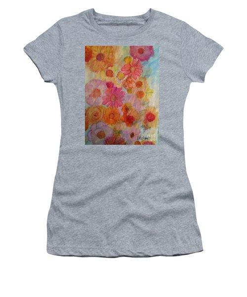 Popping Women's T-Shirt (Junior Cut) by Kim Nelson