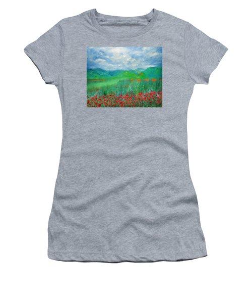 Poppy Meadows Women's T-Shirt
