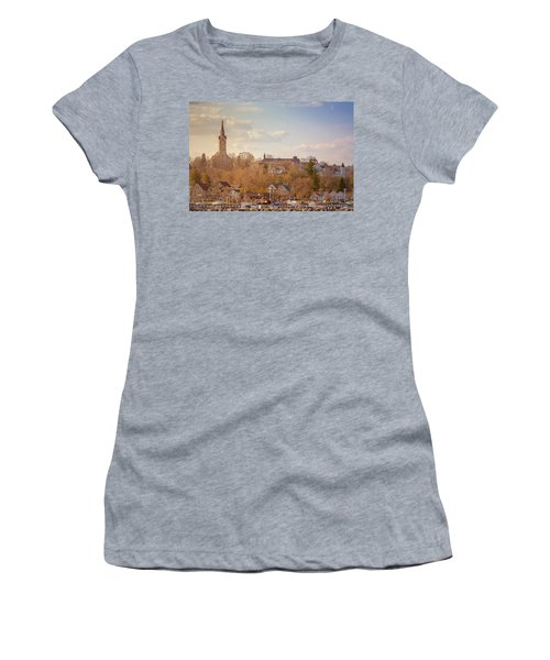 Port Washington Skyline Women's T-Shirt (Athletic Fit)