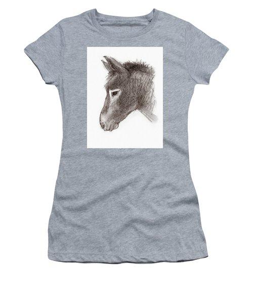 Portrait Of A Mule Women's T-Shirt