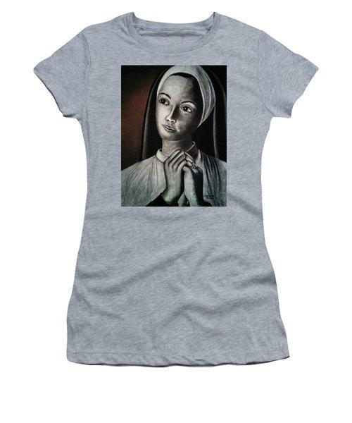 Portrait Of A Nun Women's T-Shirt (Athletic Fit)