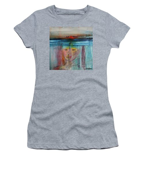 Portrait Of A Refugee Women's T-Shirt