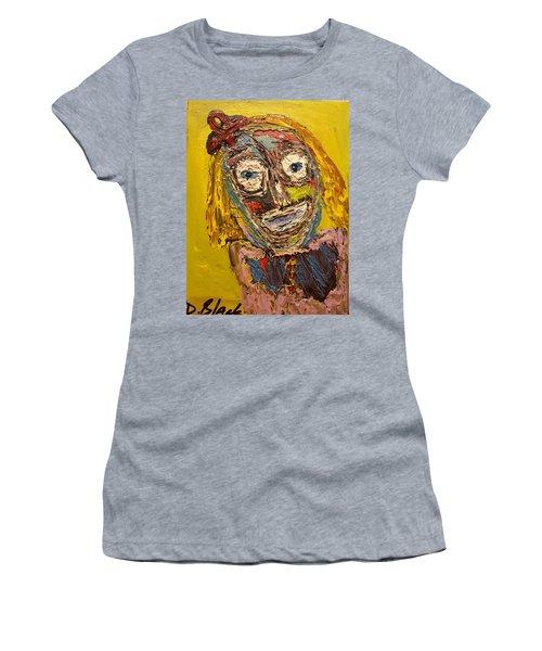 Portrait Of Finja Women's T-Shirt (Junior Cut) by Darrell Black