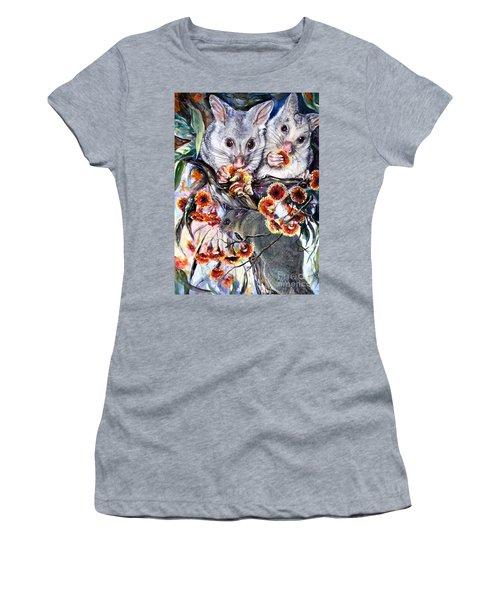 Possum Family Women's T-Shirt