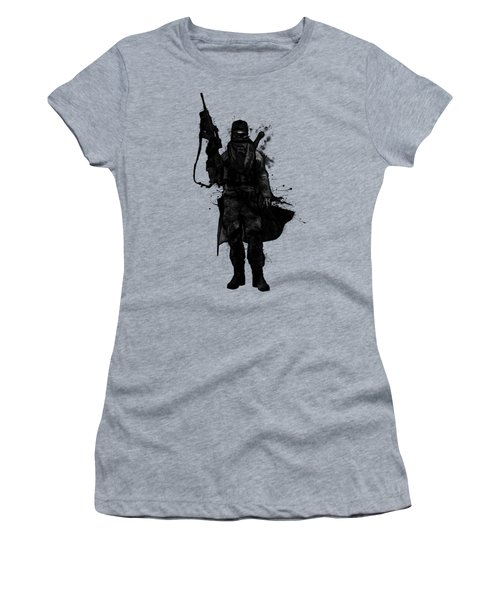 Post Apocalyptic Warrior Women's T-Shirt (Athletic Fit)