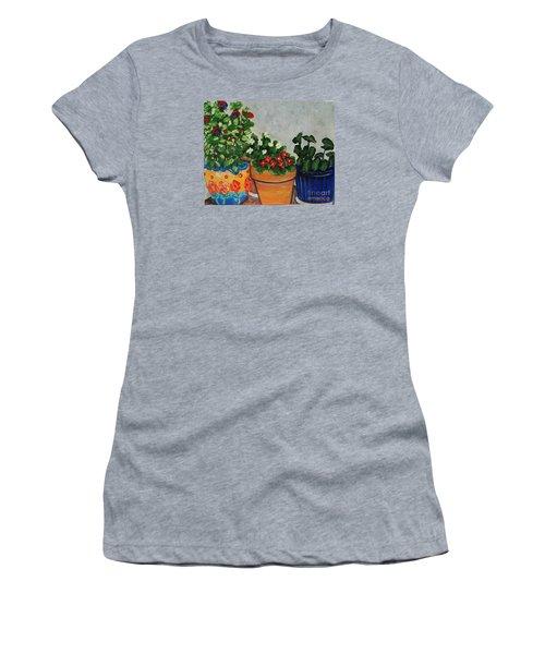 Pots Showing Off Women's T-Shirt