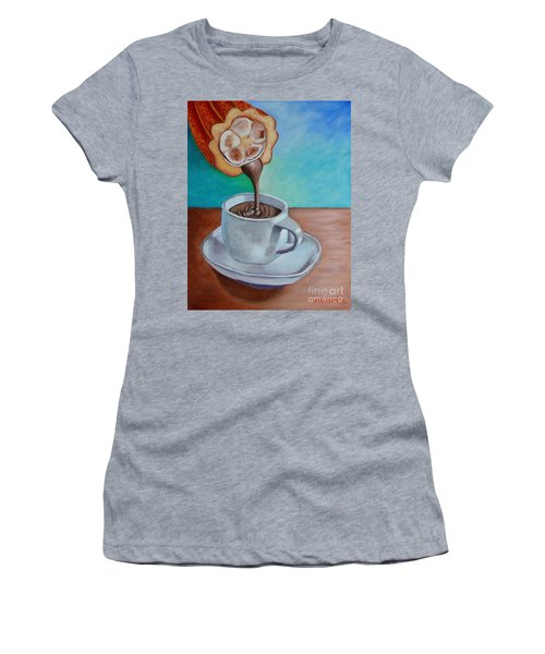 Pour Me A Cup Of Chocolate Please. Women's T-Shirt