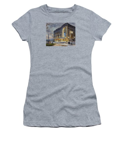 Powell Symphony Hall In Saint Louis Women's T-Shirt (Junior Cut) by Irek Szelag