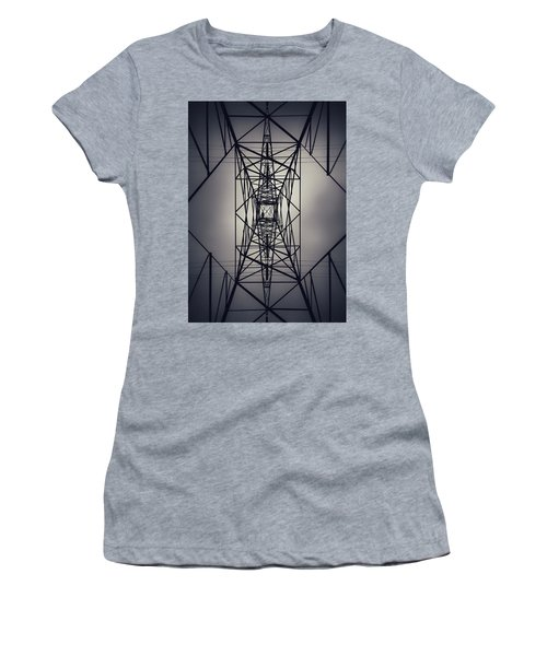 Power Above Women's T-Shirt (Athletic Fit)