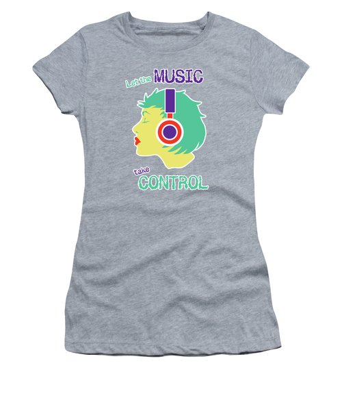 Power Of Music Women's T-Shirt (Athletic Fit)