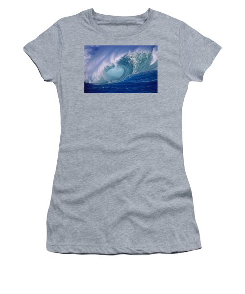 Powerful Surf Women's T-Shirt (Athletic Fit)