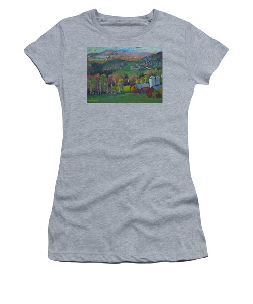 Pownel Vt Women's T-Shirt (Athletic Fit)