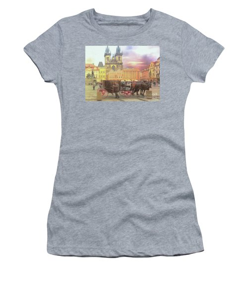 Prague Old Town Square Women's T-Shirt