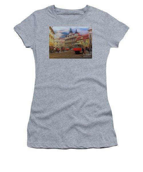 Prague, Old Town, Street Scene Women's T-Shirt
