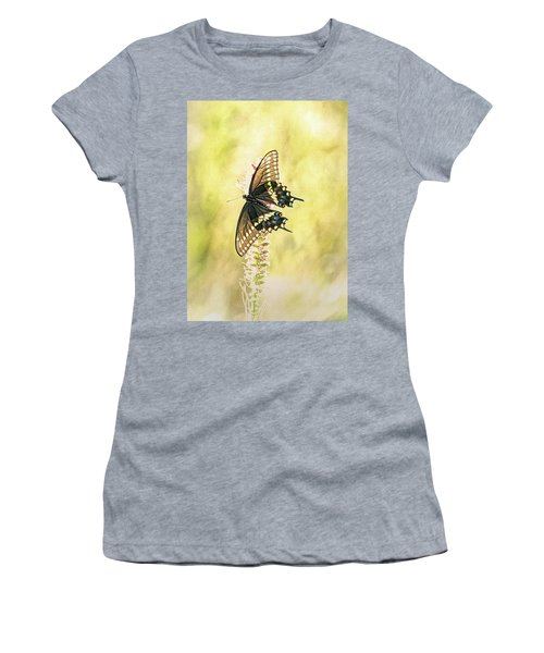 Prairie Butterfly 2 Women's T-Shirt (Athletic Fit)
