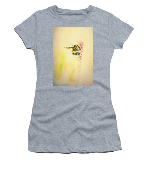 Prairie Butterfly 3 Women's T-Shirt (Athletic Fit)
