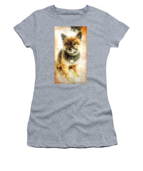 Precious Pomeranian Women's T-Shirt (Athletic Fit)