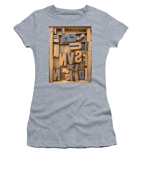 Printers Box Women's T-Shirt (Athletic Fit)