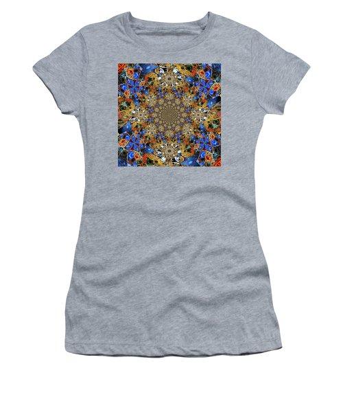 Prismatic Glasswork Women's T-Shirt (Junior Cut) by Nick Heap