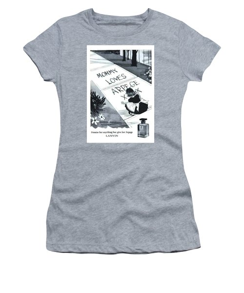 Women's T-Shirt (Athletic Fit) featuring the digital art Promises by ReInVintaged